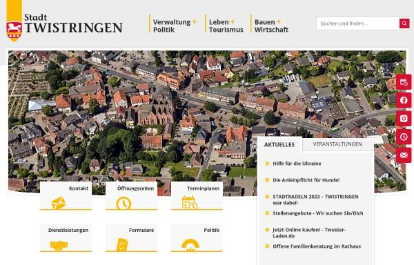 Vorschau von www.wandersocken.twistringen.de, Die Wandersocken aus Twistringen