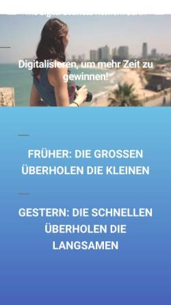 Vorschau der mobilen Webseite the-digital-business.network, MPM Dietrich Lenk