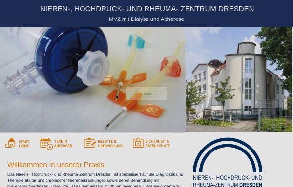 Vorschau von dialyse-dresden.de, Dialysepraxis Dr. med. Sybille Hans (Zschertnitz)
