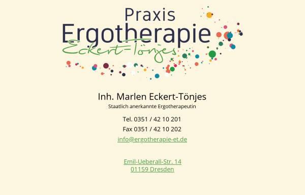 Vorschau von www.ergotherapie-et.de, Praxis Ergotherapie Eckert-Tönjes