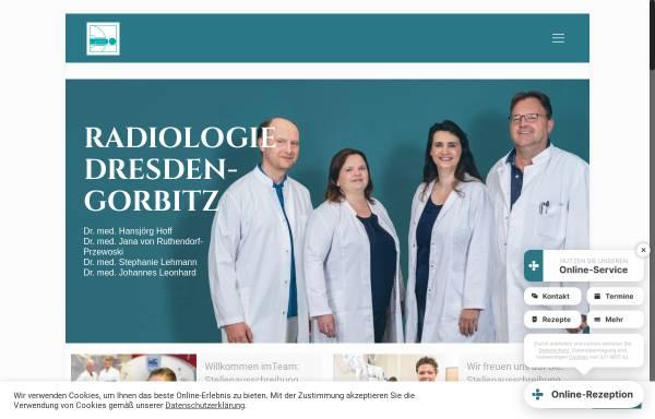 Vorschau von www.radiologie-dresden-gorbitz.de, Radiologie-Gorbitz