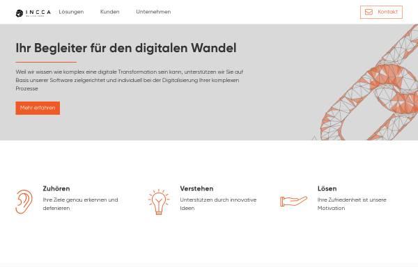 Vorschau von www.incca.de, incca GmbH