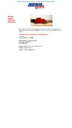 Vorschau der mobilen Webseite karin-glanzner.de, Karin Glanzner - Systemvertrieb
