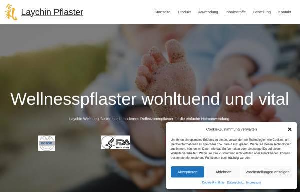 Vorschau von www.laychin-pflaster.at, Laychin-Pflaster