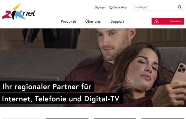 Vorschau von www.ziksuhr.ch, Ziknet