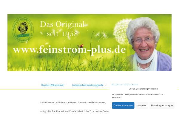 Vorschau von www.feinstromgeraet.de, M.M. Edith Krebs