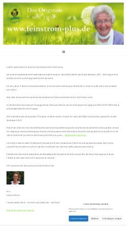 Vorschau der mobilen Webseite www.feinstromgeraet.de, M.M. Edith Krebs