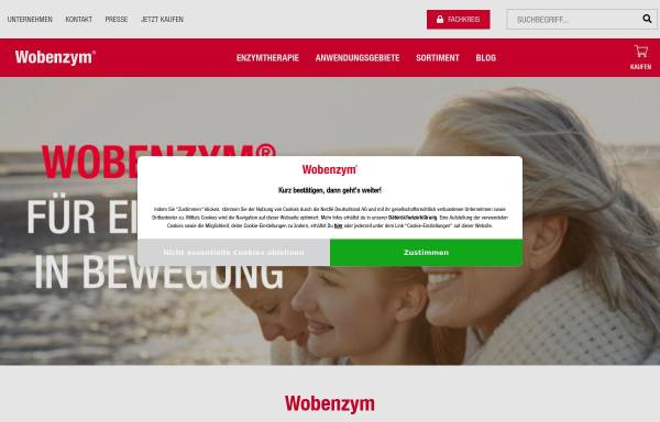 Vorschau von www.mucos.de, Mucos Pharma