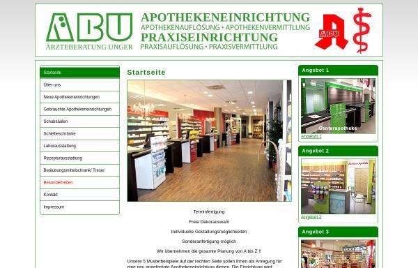 Vorschau von www.abu-unger.de, ABU Ärzteberatung Unger, Inh. Karl Unger