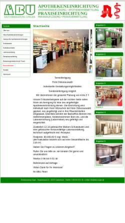 Vorschau der mobilen Webseite www.abu-unger.de, ABU Ärzteberatung Unger, Inh. Karl Unger