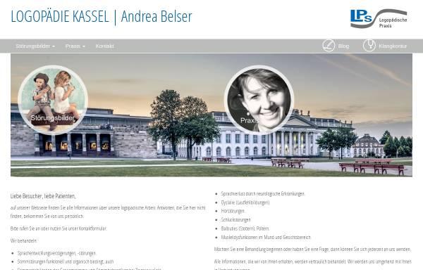 Vorschau von www.logopaedie-kassel.de, Logopädische Praxis Andrea Belser