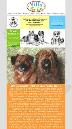 Vorschau der mobilen Webseite www.villagruen.de, Villa-Gruen