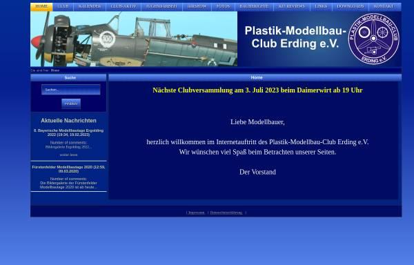 Vorschau von www.pmc-erding.de, Plastik Modellbau Club Erding e.V.