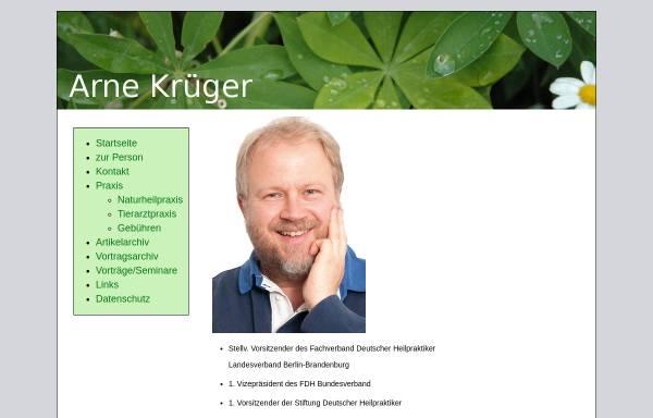 Vorschau von www.arnekrueger.de, Arne Krüger