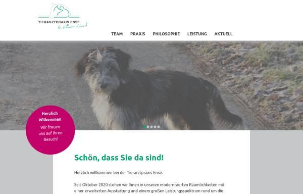 Vorschau von www.tierarztpraxis-ense.de, Dr. med. vet. M. Neumann-Aukthun