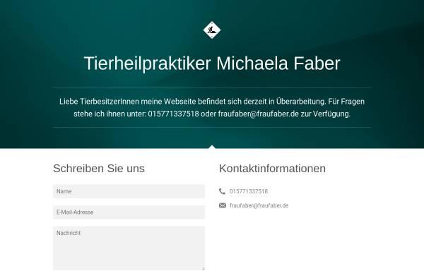 Vorschau von www.tierheilpraktiker-faber.de, Michaela Faber