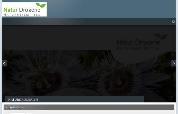 Vorschau von www.naturdrogerie.ch, Verein Natur Drogerie