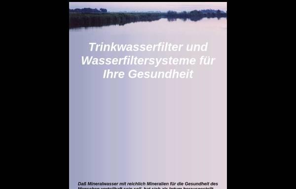 Vorschau von www.quellwasser.online.ms, Wasserfilter