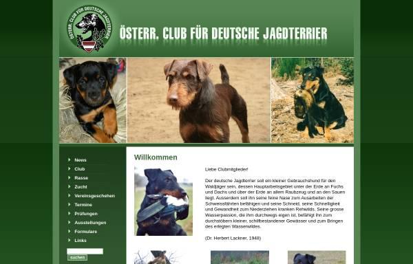 Vorschau von www.jagdterrier.at, Österreichischer Jagd Terrier Club