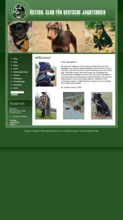 Vorschau der mobilen Webseite www.jagdterrier.at, Österreichischer Jagd Terrier Club
