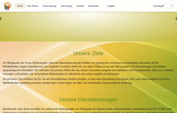 Vorschau von www.geoenergetic.de, GEOenergetic