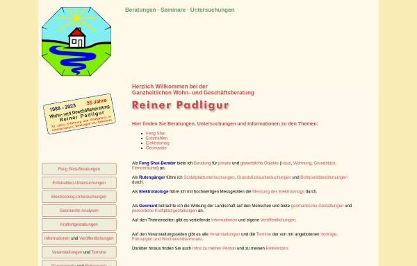 Vorschau von www.reiner-padligur.de, Padligur, Reiner