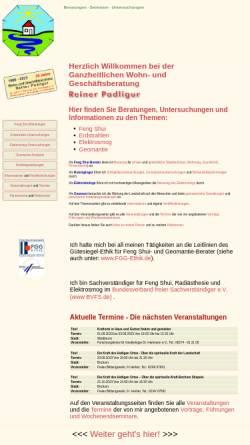 Vorschau der mobilen Webseite www.reiner-padligur.de, Padligur, Reiner
