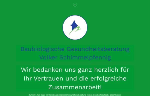 Vorschau von www.vs-gesundheitsberater.de, Schimmelpfennig, Volker