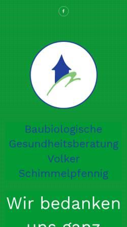 Vorschau der mobilen Webseite www.vs-gesundheitsberater.de, Schimmelpfennig, Volker