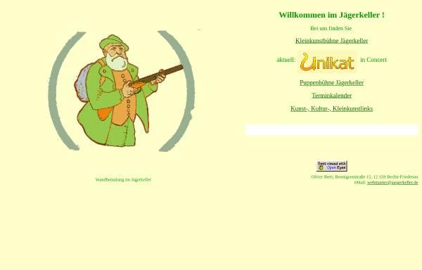 Vorschau von www.jaegerkeller.de, Jägerkeller