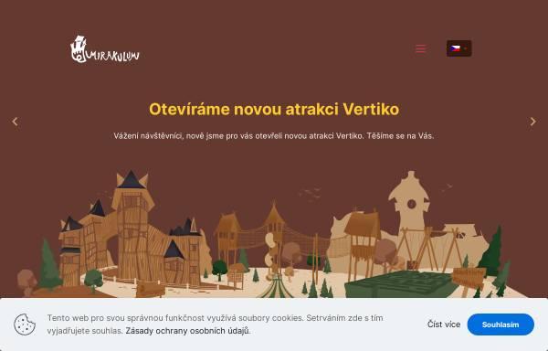 Vorschau von www.mirakulum.cz, Mirakulum