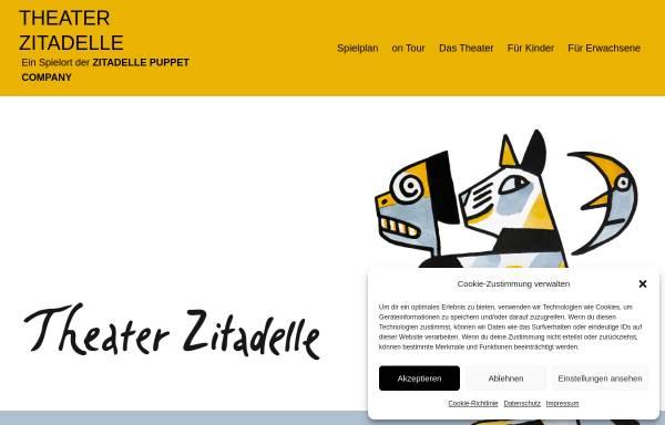 Vorschau von www.puppentheater-zitadelle.de, Puppentheater auf der Zitadelle