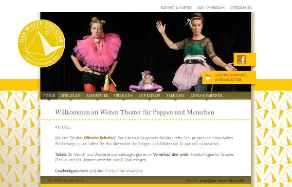 Vorschau von www.das-weite-theater.de, Das Weite Theater für Puppen & Menschen