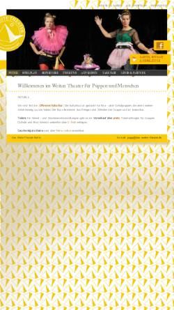 Vorschau der mobilen Webseite www.das-weite-theater.de, Das Weite Theater für Puppen & Menschen