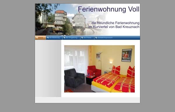 Vorschau von www.raymond-voll.de, Ferienwohnung Voll