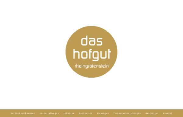 Vorschau von www.hofgut-rheingrafenstein.de, Restaurant Hofgut Rheingrafenstein