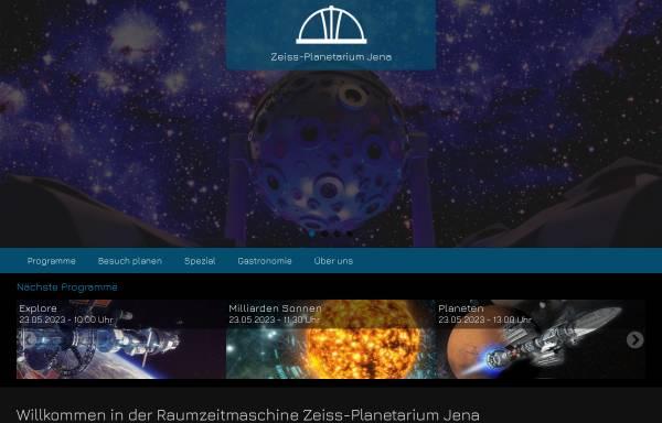 Vorschau von www.planetarium-jena.de, Zeiss Planetarium Jena