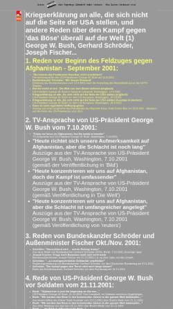 Vorschau der mobilen Webseite www.arbeiterfotografie.com, Kein Krieg! - Reden vor Beginn des Krieges