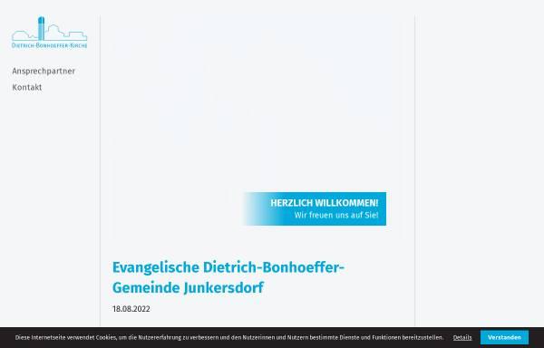Vorschau von www.ekir.de, Evangelische Gemeinde Junkersdorf