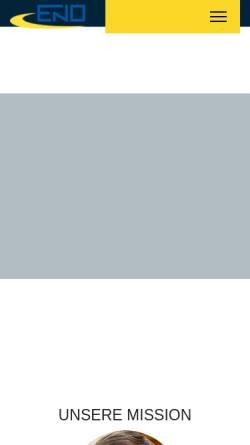 Vorschau der mobilen Webseite www.pontes-pontes.eu, Pontes