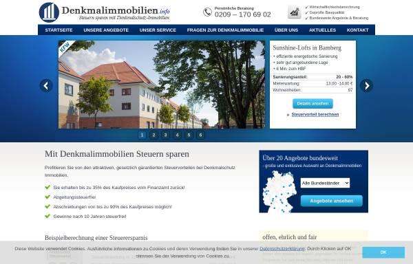Vorschau von www.denkmalimmobilien.info, N&P Immobilien GmbH