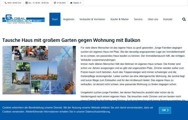 Vorschau von www.global-immobilien-muenster.de, Global Immobilien Service GmbH