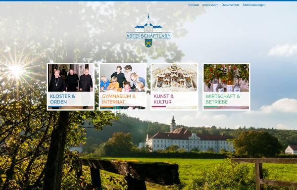 Vorschau von www.abtei-schaeftlarn.de, Benediktinerabtei Schäftlarn