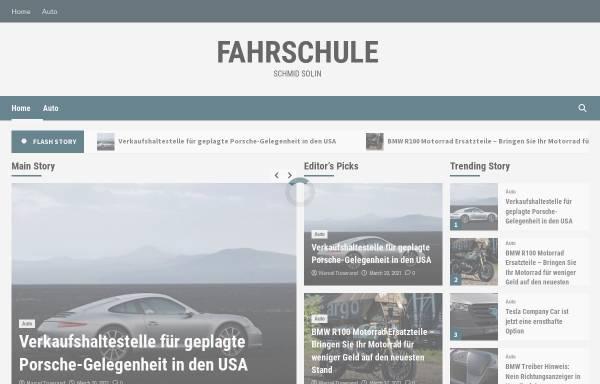 Vorschau von www.fahrschule-schmid-solln.de, Fahrschule Schmid