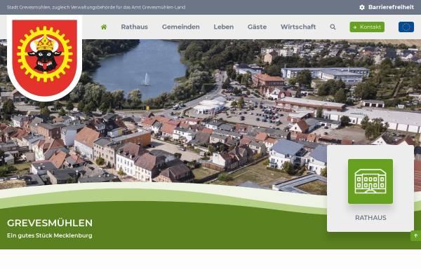 Vorschau von www.grevesmuehlen.de, Stadt Grevesmühlen