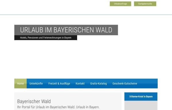 Vorschau von www.bayrischerwald.de, Bayrischerwald.de