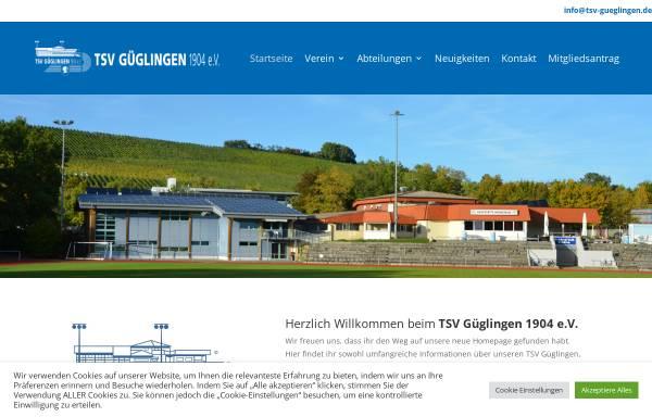 Vorschau von www.tsv-gueglingen.de, TSV Güglingen
