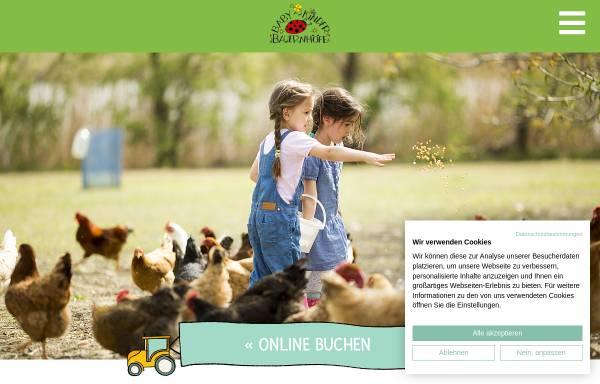 Vorschau von www.babybauernhoefe.de, Kinderbauernhöfe in Ostbayern