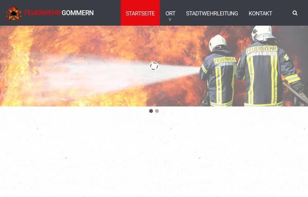 Vorschau von www.feuerwehr-gommern.de, Feuerwehr Gommern