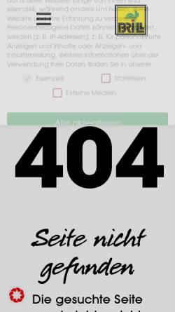 Vorschau der mobilen Webseite m.brill-substrate.com, Gebr. Brill Substrate GmbH & Co. KG